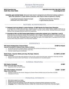 Robert Woodard    Resume