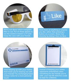 Social rehab tool kit offers help for social media addicts Let's Pretend, Gadgets And Gizmos, Pinterest For Business, Social Media Tips, Tool Kit, Business Marketing, Addiction, Glasses, Instagram