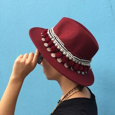 Perfect accessory for the urban boho look. OOAK hat piece that will only need a casual outfit, accessory must for this summer Jewelry Accessories, Women Jewelry, Unique Jewelry, Boho Look, Jewelry Collection, Casual Outfits, Urban, Trending Outfits, Hats