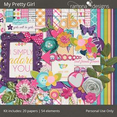 Personal Use :: Kits :: My Pretty Girl #thestudio,  #NSDthestudio