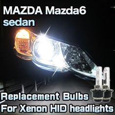 Replacement HID Light Bulb 2 Pieces For MAZDA Mazda6 sedan 2014-up
