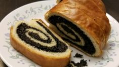Homemade poppy seed filling is rolled up inside a buttery yeast dough and baked until golden brown. The recipe yields 2 filled loaves. Poppy Seed Filling, Poppy Seed Bread, Poppy Seed Cake, Recipe Measurements, Polish Recipes, Polish Desserts, Polish Food, Hungarian Recipes, Slovak Recipes
