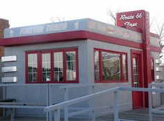 Route 66 Diner by Route 66 Museum. Clinton. Oklahoma