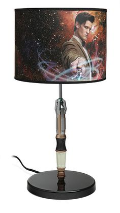 ThinkGeek :: Doctor Who Sonic Screwdriver Lamp *screeches and flails*