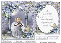 Thoughtful Friendship Quick Topper Insert Verse on Craftsuprint - Add To Basket!