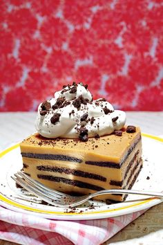 Kentucky Derby Recipes: Chocolate-Bourbon-Butterscotch Icebox Cake