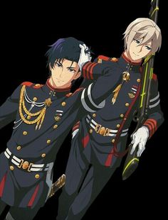 Seraph of the end - Gurren and Shinya