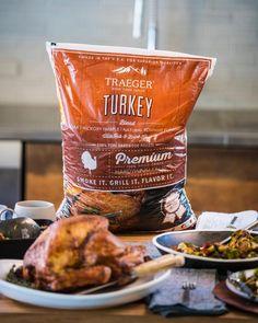 "Traeger Grills on Instagram: ""Get ready to take your Thanksgiving turkey to th... Turkey Rub, Turkey Brine, Traeger Recipes, Grilling Recipes, Smoke Grill, Wood Pellets, Thanksgiving Turkey, Traeger Grills, Barbecue"