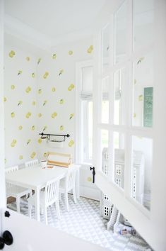 Sharing 5 tips on how to create a great play space/ playroom for the kids in your home! Which helps declutter your home of the endless… Playroom Design, Playroom Decor, Playroom Ideas, Playroom Paint, Wall Decor, Playroom Wallpaper, Modern Playroom, Playroom Storage, Kids Decor