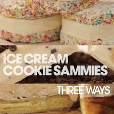 You Can Do Better: Ice Cream Sandwiches 3 Ways