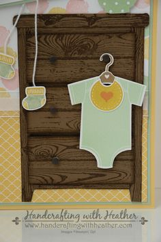 Finish My Card Collaboration (Part 2)... Something for Baby - Stampin' Up!