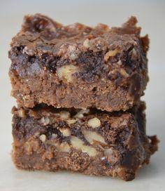 Caramel Graham Fudge Brownies. Amazing!