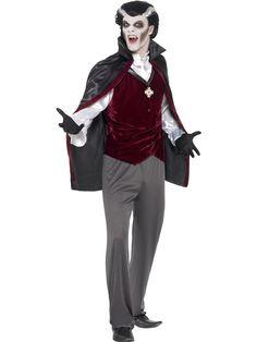 Vampyyri. Vampyyri naamiaisasu on todellisen herrasmiehen tyylikäs pukine