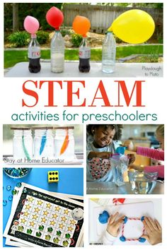 Preschool STEAM activities you need to try with the kids