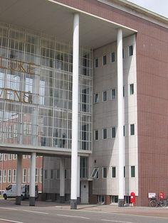 Dudok, Koninklijke Hoogovens, entreegebouw 1947-1951