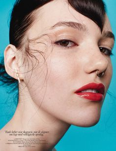 visual optimism; fashion editorials, shows, campaigns & more!: anya lyagoshina by hasse nielsen for cover denmark june 2015