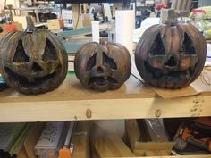 Rotten Pumpkins : 4 Steps (with Pictures) - Instructables Black Spray Paint, Black Acrylic Paint, Brown Paint, Holidays Halloween, Happy Halloween, Homemade Halloween, Book Character Costumes, Small Pumpkins, Halloween Projects