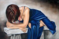 Figure Painting - Figure Eighty One Of Seven by Ilse Kleyn Bible Verse Coloring Page, Jesus Art, Jesus Christ, Underground Bunker, Bride Of Christ, Prophetic Art, Mural Art, Christian Art, Figure Painting