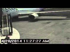 Hawaii Stowaway Security Footage