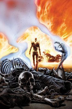 Back to title selection: Comics G: Ghost Rider Vol 7 Back to title selection: Comics G: Ghost Rider Vol 7 Arte Dc Comics, Marvel Comics Art, Marvel Heroes, Ghost Rider Johnny Blaze, Ghost Rider Marvel, Comic Books Art, Comic Art, Spirit Of Vengeance, Man Thing Marvel