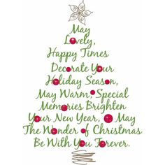 merry christmas and a happy new year christmas cards christmas tree poem printable