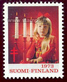 1973 Tyttö ja kolme kynttilää