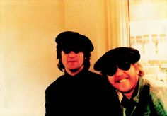 John and his mate Harry Nilsson