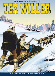 Tex Willer Kirjasto: Kelmijahti Kanadassa