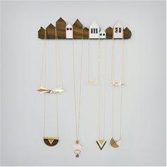 Shlomit Ofir Jewelry Design - Shop - Houses Jewelry Display