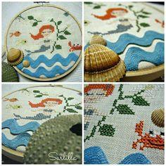 Stitcher: Sarlilla  - Design: The Snowflower Diaries: Little Mermaid (2013)