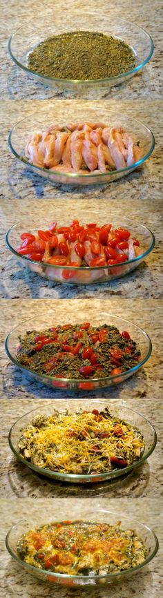Baked Pesto Chicken -- Easy, Delicious & Healthy - Get Fit & Stay Focused