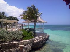 Another view of the Caribbean Sea at Sandals Montego Bay, Jamaica. #beachweddings