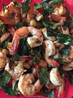 Sikandalous Cuisine: Prawn Pepper Burnt Garlic #sikandalouscuisine