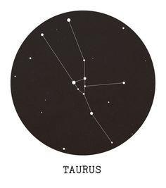 Taurus Star Constellation Canvas Print