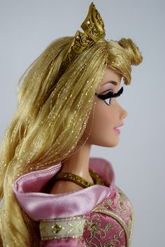 Limited Edition Aurora 17'' Doll (Pink Gown) - Disney Store Purchase - Deboxed - Standing - Portrait Left Side View   Flickr - Photo Sharing!