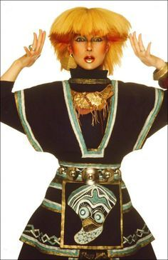 Toyah Willcox From the Toyah Willcox August 1981 'Stern' Magazine Germany session. 80s Party Costumes, 80s Costume, Blitz Kids, New Wave Music, Punk Poster, Goth Glam, Women Of Rock, Fashion Tv, Urban Fashion