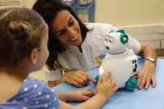 Friendly educational robot designed to help kids with autism