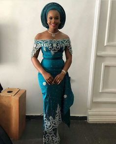 Latest Ankara Aso Ebi Styles 2019 For Modern Ladies -Best place f. Diyanu from Diyanu - Ankara Dresses, Shirts & Nigerian Lace Dress, Nigerian Dress Styles, Nigerian Wedding Dress, African Wedding Attire, Ankara Dress Styles, African Attire, Dress Wedding, African Wear, Kente Styles