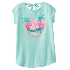 Jumping Beans® Tropical Tie-Back Tee - Girls 4-10