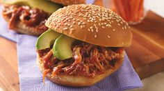 Slow-Cooker Chipotle Pulled Pork Sandwiches