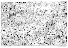 """My Contribution to »Karagöz« 2012 A4 (8,2"""" x 11,6"""") 32 pages black and white english Get your copy here !»Karagöz« is a comics anthology edited by Nadine Redlich and Thomas Wellmann. It consists of work by the following artists: Andreas SchusterLisa Roeper Max FiedlerMichael Meier Nadine Redlich Olaf AlbersRita Fuerstenau Stephan Lomp Thomas Wellmann Warwick Johnson Cadwell For more information; visit: www.karagoez.tumblr.com"""