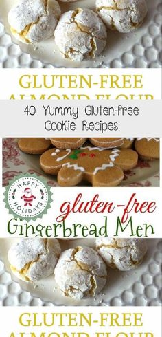 40 Yummy Gluten-Free Cookie Recipes - Sincerely Kale #Gluten-FreeCookieChocolateChip #Gluten-FreeCookieChristmas #HealthyGluten-FreeCookie #Gluten-FreeCookieCoconutFlour #Gluten-FreeCookieOatmeal Gluten Free Pumpkin Cookies, Gluten Free Chocolate Cookies, Flourless Chocolate Cookies, Gluten Free Gingerbread, Caramel Chocolate Chip Cookies, Gluten Free Cookie Recipes, Gluten Free Peanut Butter, Chewy Sugar Cookies, Salted Caramel Chocolate