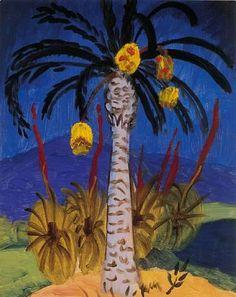 GABRIELE MUNTER Date Palm (1930)