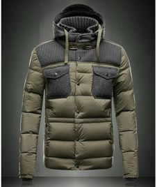 2013 Fance Moncler army green Men Coat Best Seller