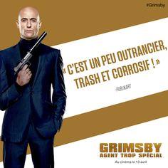 Concours Grimsby - Agent trop spécial : 20 places de ciné et 10 Tee-Shirts à…