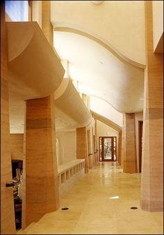 rammed earth columns
