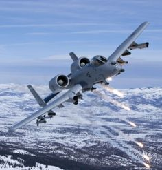 A-10 Warthog-often thought of as an ugly plane, it's actually quite beautiful! And DEADLY.