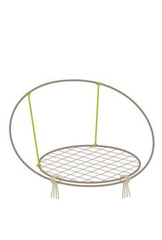 Diy Hammock, Hammock Chair, Swinging Chair, Diy Chair, Macrame Chairs, Macrame Wall Hanging Diy, Macrame Art, Diy Yarn Earrings, Diy Projects Cans