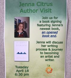 Join me for my first local book signing at Henderson County Public Library! http://ift.tt/2nUwjV2 #book #booksigning #localauthor #henderson #hendersonky #kentucky #bookgirl #bookgirl7 #jennacitrus