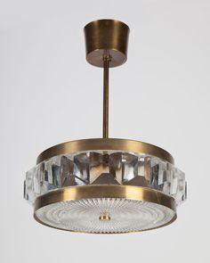 Orrefors Pendant, Circa 1960, from Remains Lighting